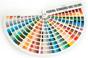 FEDERAL STANDARD 595C Color Chip