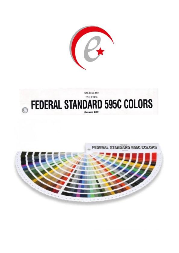 Federal Standart 595C Renk Kataloğu