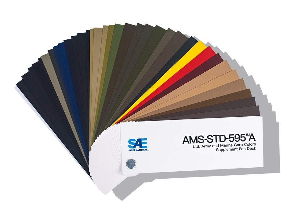 AMS Standart 595 Renk Kataloğu AMS-STD-595